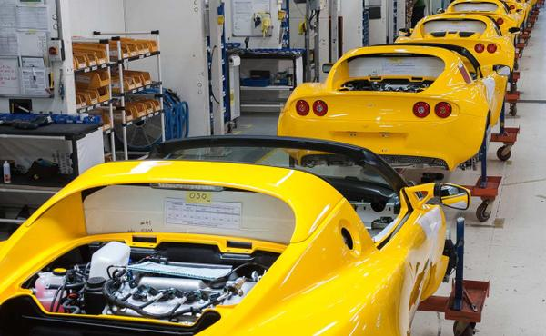 Lotus Cars Hethel Factory Tour